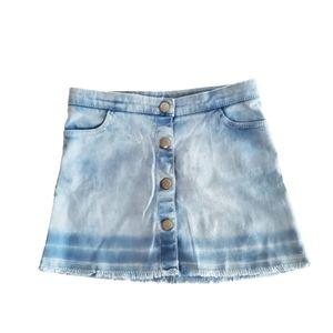H&M Girls Denim Skirt Mini Size 3-4